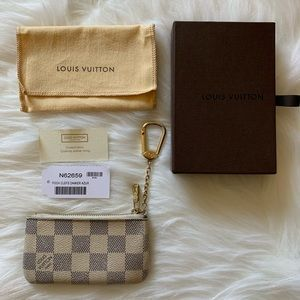 Authentic! Louis Vuitton Key Pouch